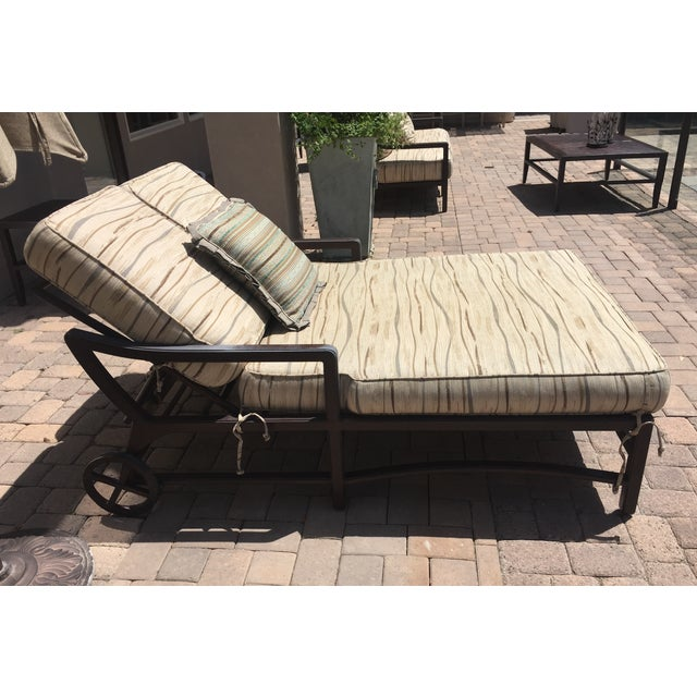 Outdoor Double Chaise - Image 6 of 9