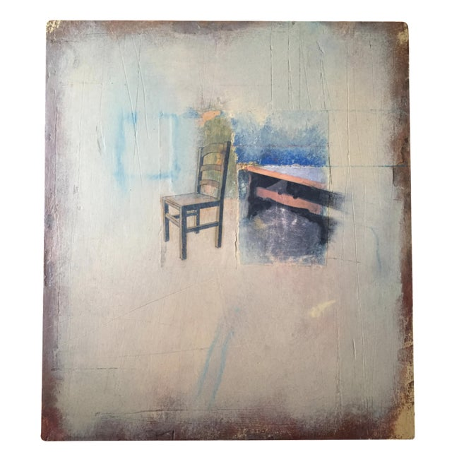 Mixed Media on Wood by Jessica Falstein - Image 1 of 6