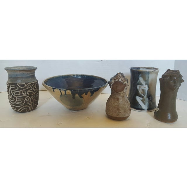 Studio Pottery Kitchen Collection - Set of 5 - Image 2 of 4
