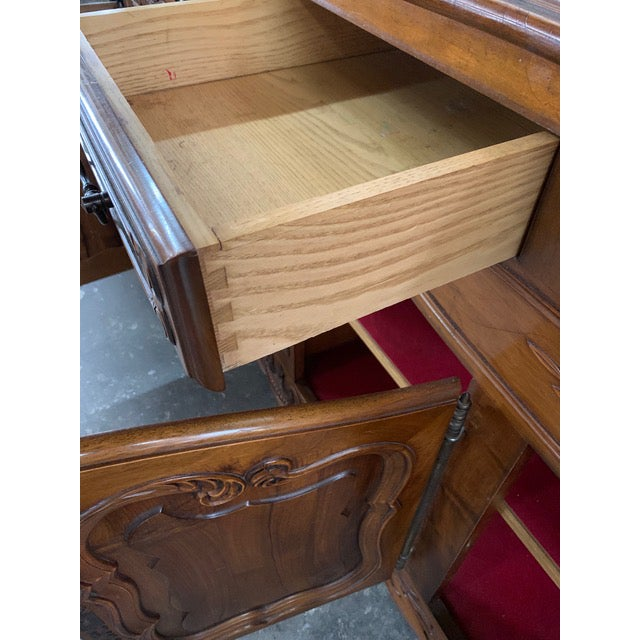 19th Century Louis XV Style Enfilade Buffet For Sale - Image 10 of 12