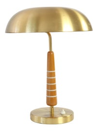 Image of Teak Table Lamps