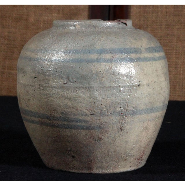 19th Century Chinese Provincial Blue & White Jar - Image 3 of 11