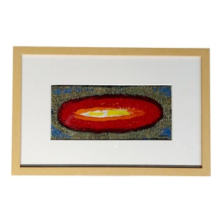 Conrad Buff - Hot Red Galaxy - Modernist Oil Painting For Sale