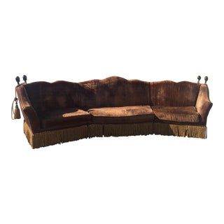 Safahieh Gothic Sectional Sofa For Sale