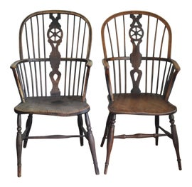 Image of Country Windsor Chairs