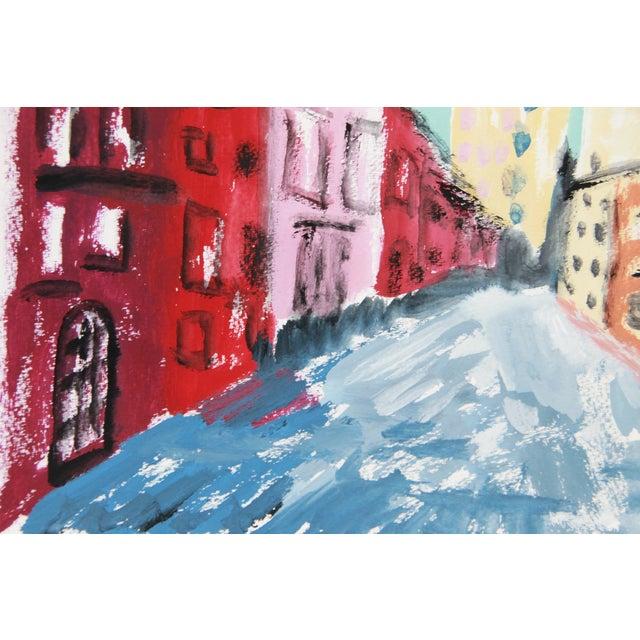 'Greenwich Village #1' Cityscape by Cleo - Image 2 of 2