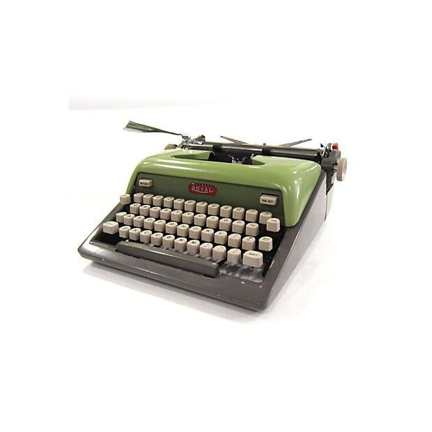 Mid Century Green Royal Typewriter - Image 6 of 7