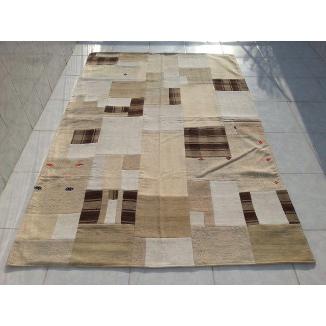 Turkish handmade handwoven vintage anatolian rug. We collect old vintage antique rugs from Anatolia, which is the east...