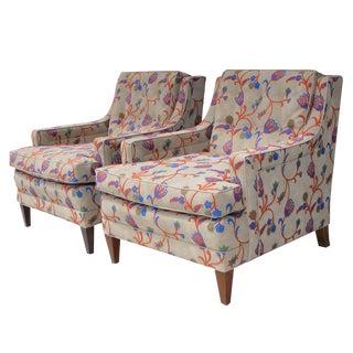 Vintage Mid-Century Modern Kittinger Lounge Chairs - a Pair