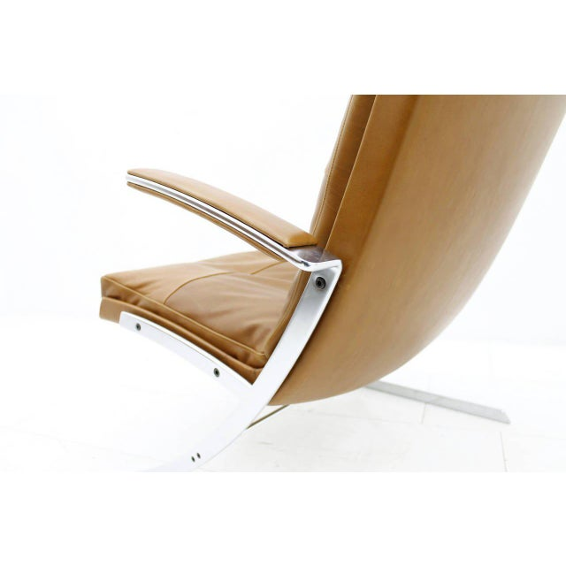 Pair of Lobby Lounge Chairs by Preben Fabricius for Arnold Exclusiv, 1972 For Sale - Image 6 of 11
