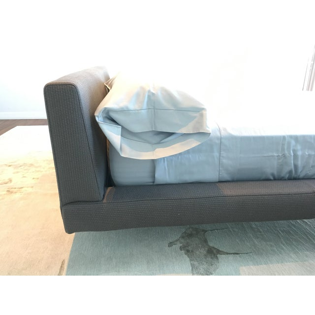 Contemporary B & B Italia Charles Queen Size Bed For Sale - Image 3 of 7