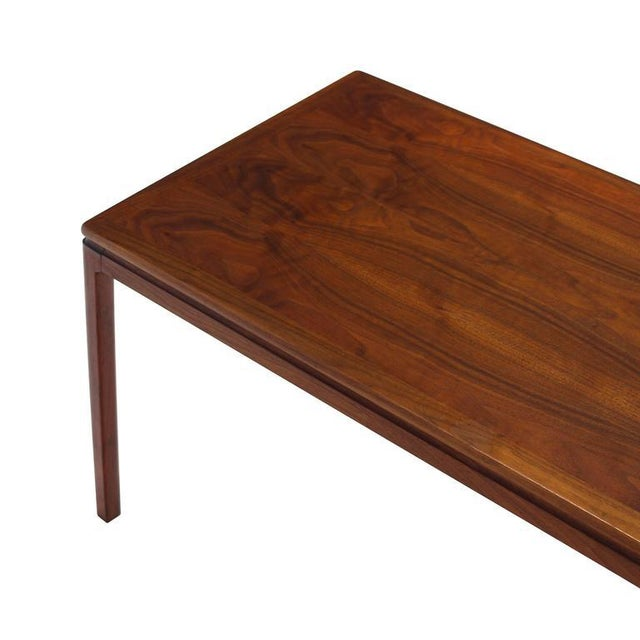Brown Set of Three Teak Nesting Tables by Dux For Sale - Image 8 of 8