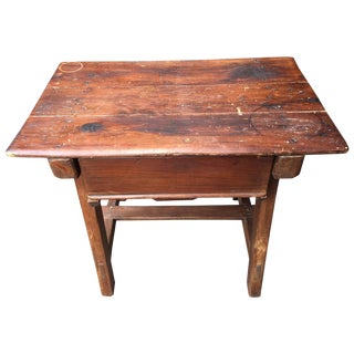Italian Table With Drawer, 19th Century For Sale