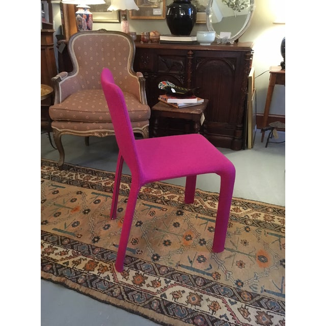Contemporary Modern Studio Bartoli Design Magenta Kristalia Joko Chair For Sale - Image 3 of 9