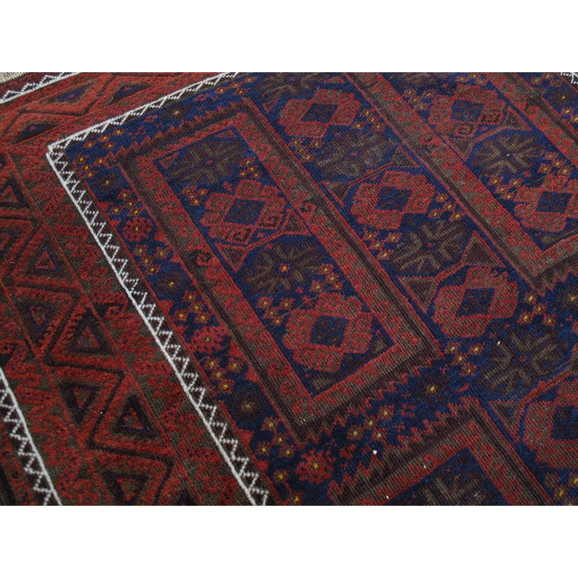 Late 19th Century Antique Baluch Long Rug For Sale - Image 5 of 9