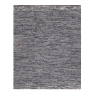 "Pasargad NY Indo Denim Reversible Hand Woven Rug - 10' × 13'7"" For Sale"