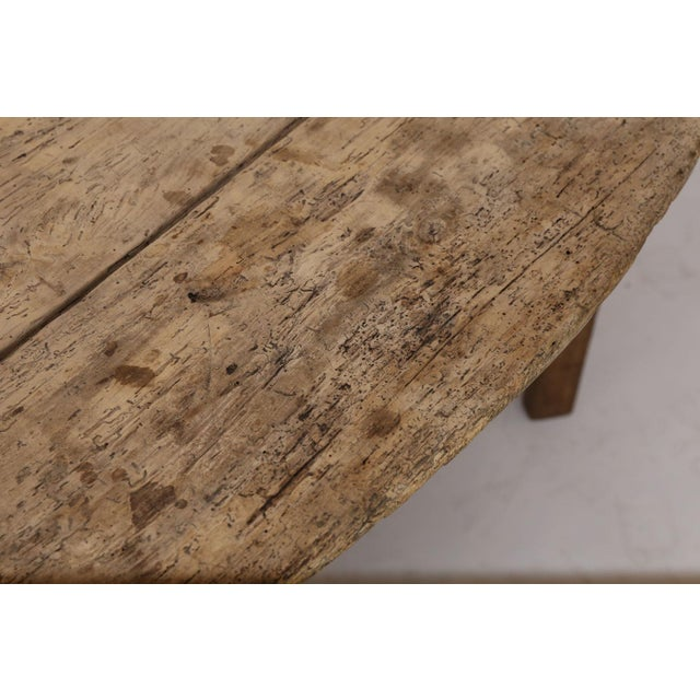 Early 19th Century Unusually Large Early Vendange Table For Sale - Image 5 of 13