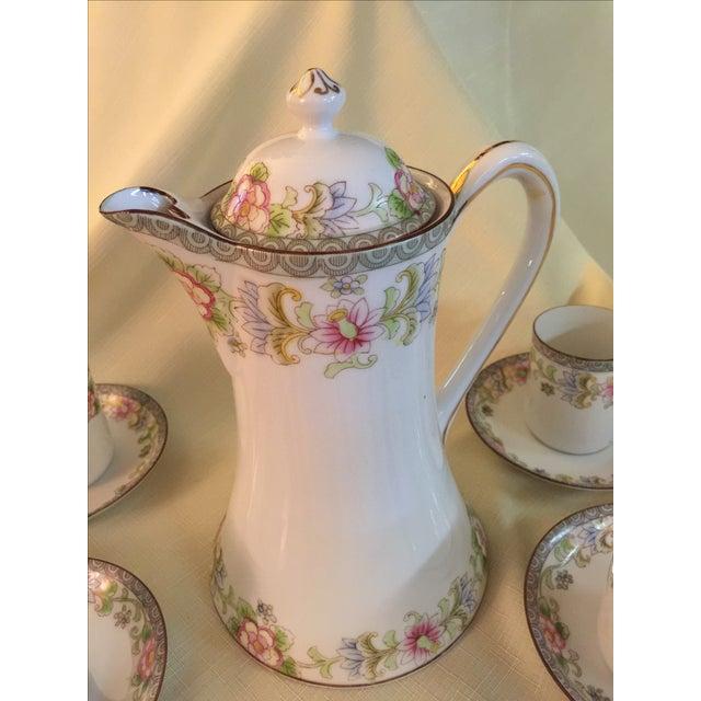 Porcelain Demitasse - Set for 6 - Image 3 of 6