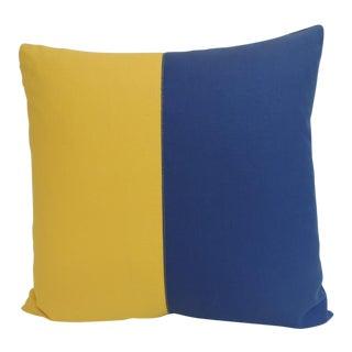 Pair of Antique Textiles Galleries Nautical Collection Kilo Decorative Pillows
