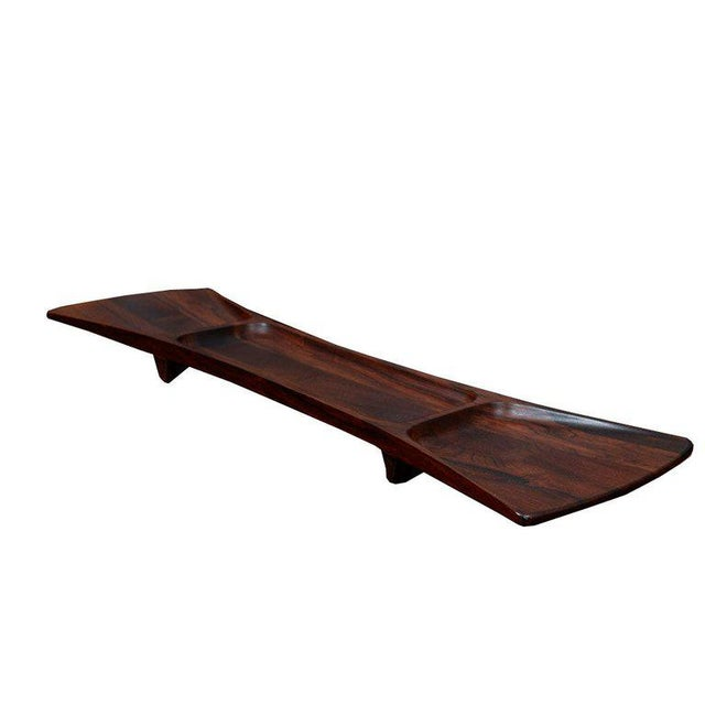 Rosewood Jens Quistgaard for Dansk Tray For Sale In New York - Image 6 of 8