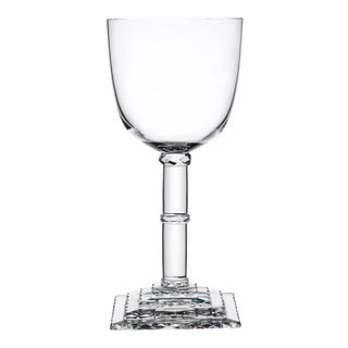 "Hoffmann Goblets: ""Stufenschliff"" Goblet by Josef Hoffmann For Sale"