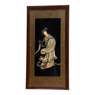 Mid / Late 20th Century Chinese Soapstone Carving Art For Sale