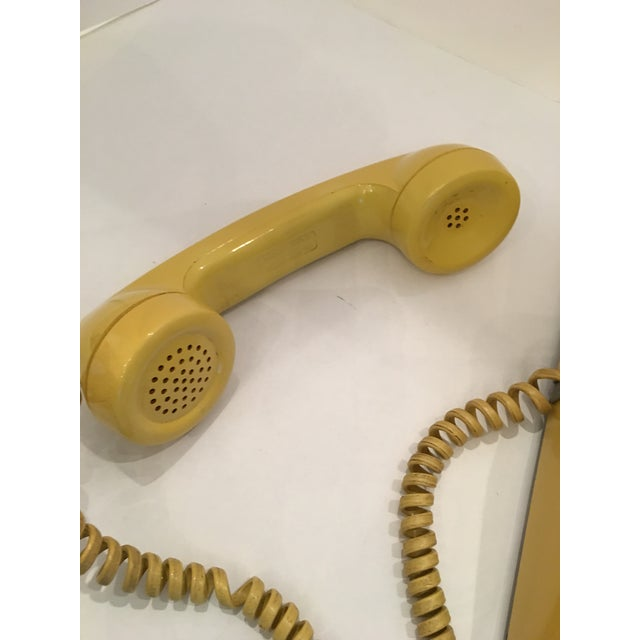 Vintage Bell Western Yellow Desktop Telphone - Image 5 of 9