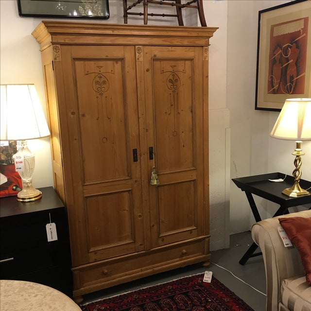 Cedar Lined Armoire - Image 3 of 10
