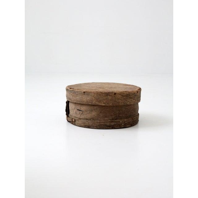 Antique Primitive Cheese Box - Image 2 of 6