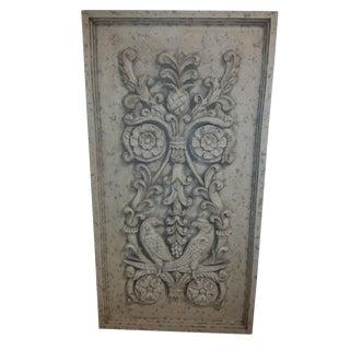 Regency Style Bird Terracotta Style Relief For Sale