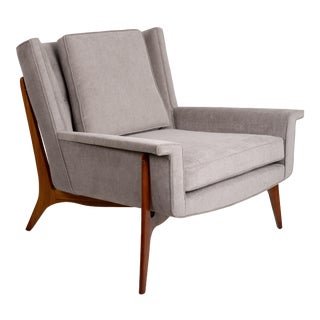 1950s Vintage Vladimir Kagan for Dreyfuss Lounge Chair For Sale