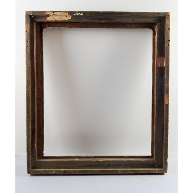 Antique M. Grieve Gothic Picture Frame For Sale - Image 9 of 11
