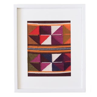 Peruvian Orange, Plum, Olive Wall Hanging / Placemat Preview