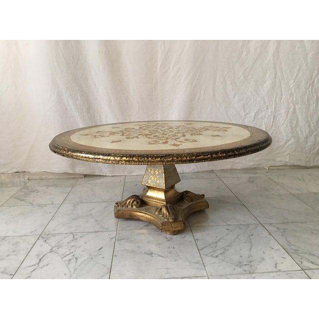 Hollywood Regency Florentine Coffee Table - Image 7 of 8