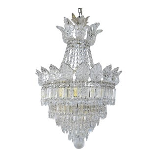 Late 18th Century A Majestic French Crystal Chandelier For Sale