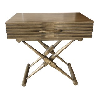 Noir New Trunk Style Accent Table For Sale