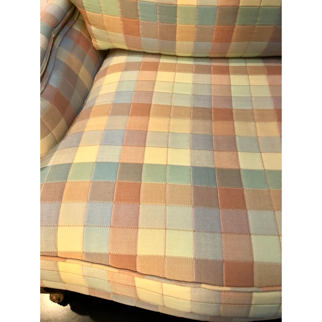 Late 20th Century Vintage Upholstered Bergere Style Chair For Sale - Image 5 of 12