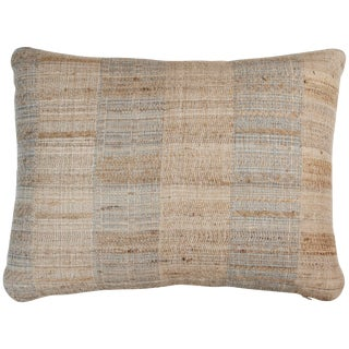 Indian Handwoven Pillow Hand Pale For Sale