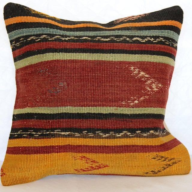 Turkish Kilim Pillow - Image 2 of 6