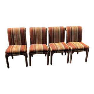Mid Century Modern Milo Baughman Thayer Coggin Dining Chairs- Set of 4 For Sale