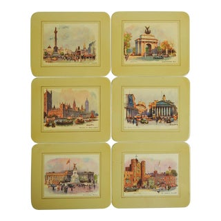 Scenes of London Coasters - Set of 6 For Sale