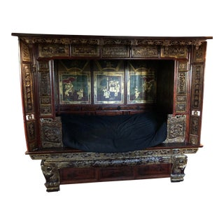 1990s Chinese Opium Bed For Sale