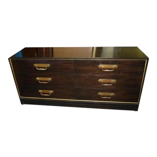 1970's Vintage Henredon Six Drawer Dresser For Sale