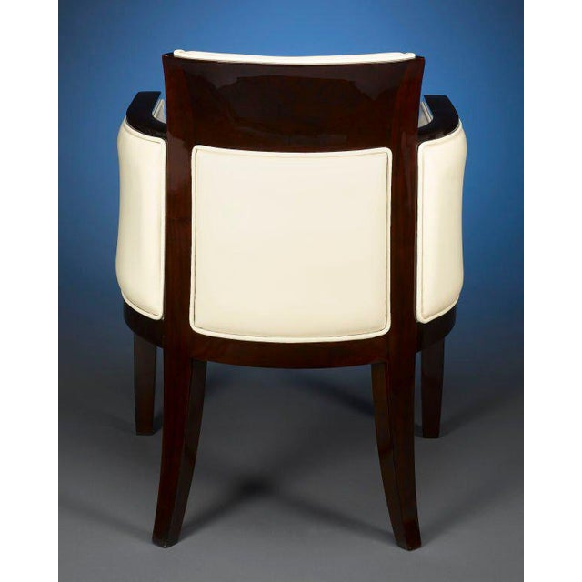 1930s Art Deco Armchair For Sale - Image 4 of 5