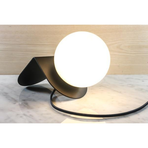 "Not Yet Made - Made To Order ""A"" Light in Black Desk Lamp For Sale - Image 5 of 10"