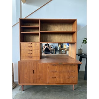 Mid-Century Danish Made Bar Cabinet Desk Preview
