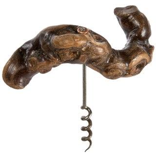 Vintage French Grapevine Corkscrew