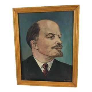 French Portrait of Lenin For Sale