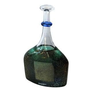 1980s Vintage Kosta Boda Glass Vase For Sale
