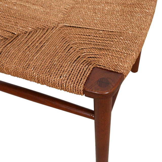 Brown Borge Mogensen Set of 10 (2 Arm + 8 Side) Danish Teak Dining Chairs For Sale - Image 8 of 9